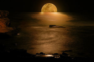 Денежный приворот на Луну