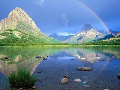 Увидеть двойную радугу - приметы