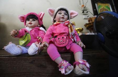 Защита ребенка куклой оберегом