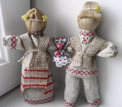 Куклы мотанки очень популярны