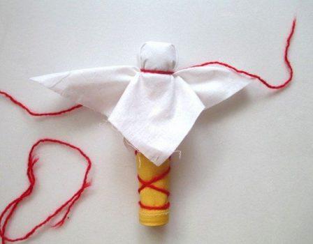 Изготавливаем куклу поэтапно