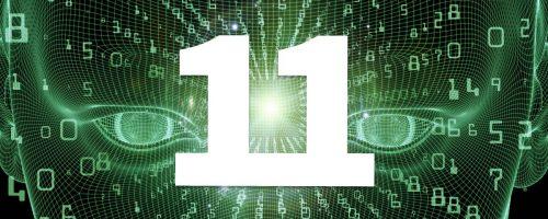 У людей с числом 11 хорошо развита интуиция