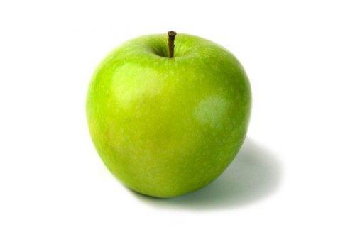 Зелёное яблоко тоже может помочь