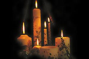 Приворот на свечах церковных