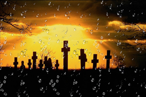 порча на смерть на кладбище