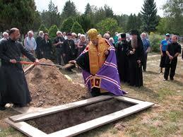Обряд похорон у русских