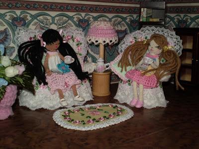 Куклы обереги из ниток