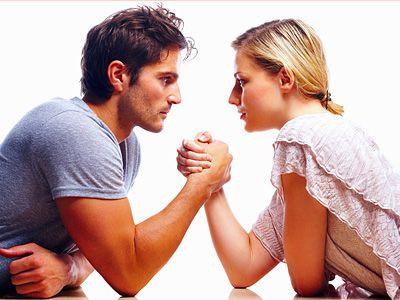 Отношения в паре довольно напряженные