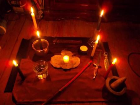 Ритуал очень простой