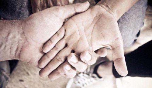 Ровная идеальная линия брака является залогом союза на века