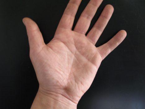 Знаки на руке могут появляться или исчезать