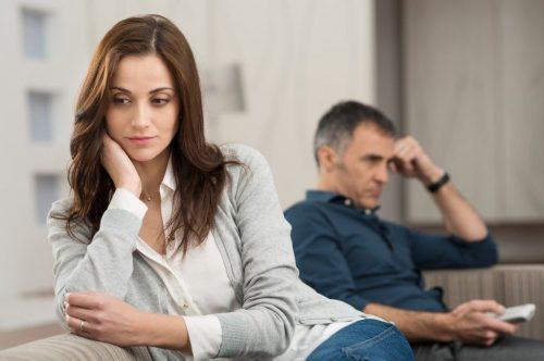 Взаимоотношения супругов зависят от количества линий брака