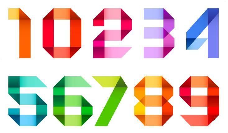 Каждое число расшифровывается по своему