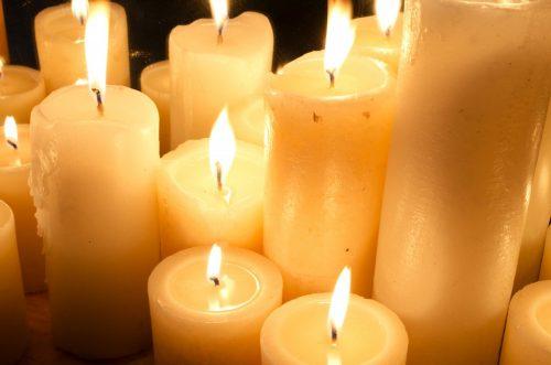 Тающая свеча от сглаза и испуга